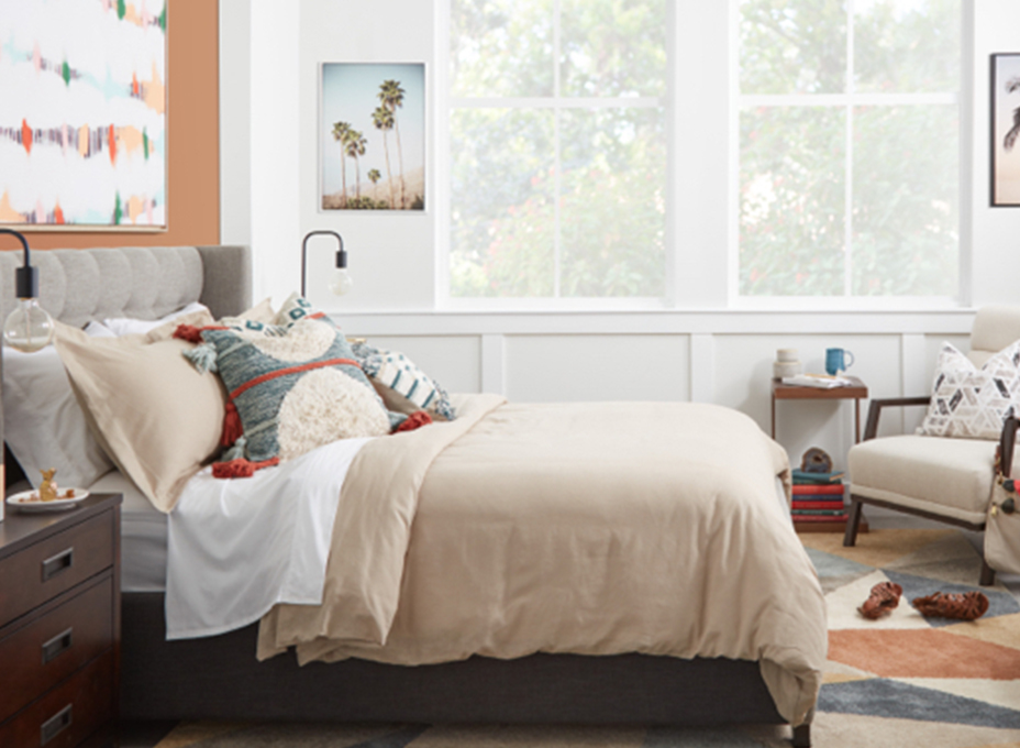 Before & After Bedroom Refresh