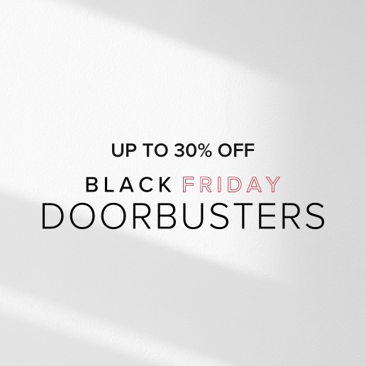 Black Friday Doorbusters. Shop now.